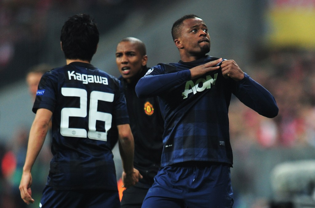 No homecoming, yet - It looks like Patrice Evra is not returning to Manchester United any time soon. (Photo by Shaun Botterill/Getty Images)