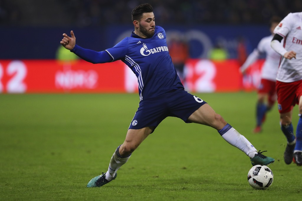 On the move - Arsenal and Juventus are eyeing a move for the highly rated Sead Kolasinac. (Photo courtesy - Oliver Hardt/Bongarts/Getty Images)