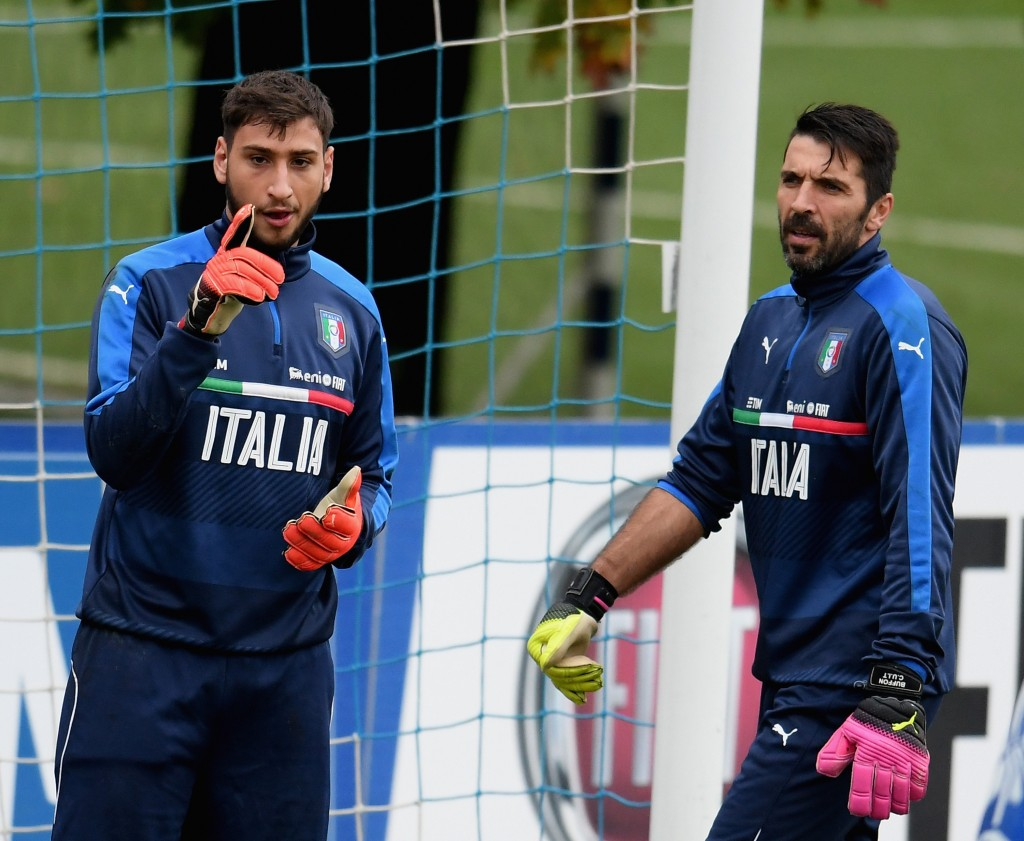 The new number 1, for Italy, surely. (Picture Courtesy - AFP/Getty Images)