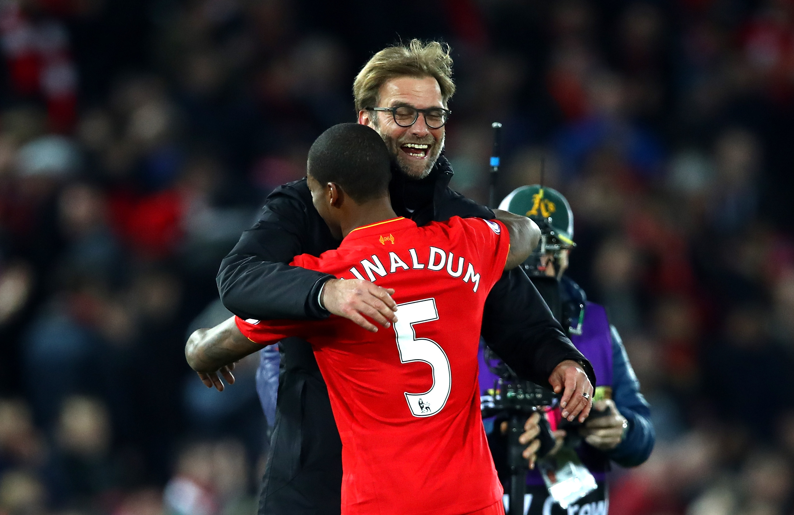 One of Klopp's most-trusted lieutenants, Wijnaldum could be on his way out (Photo by Clive Brunskill/Getty Images)