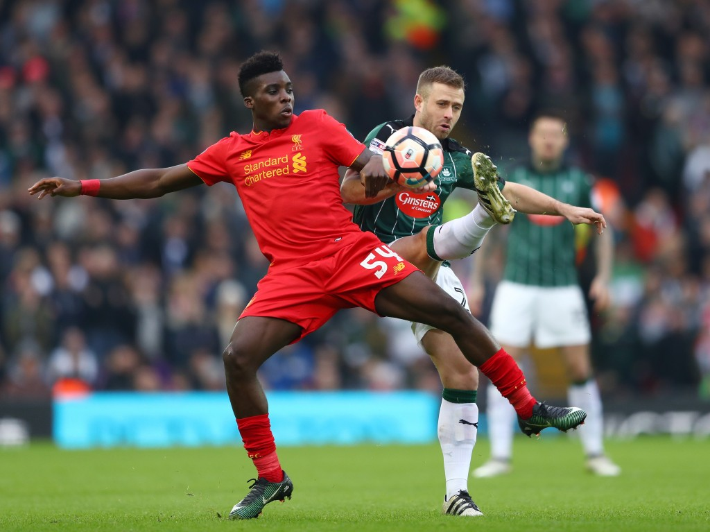 Staying put - Sheyi Ojo is likely to remain at Liverpool despite interest from Newcastle United. (Photo courtesy - Michael Steele/Getty Images)