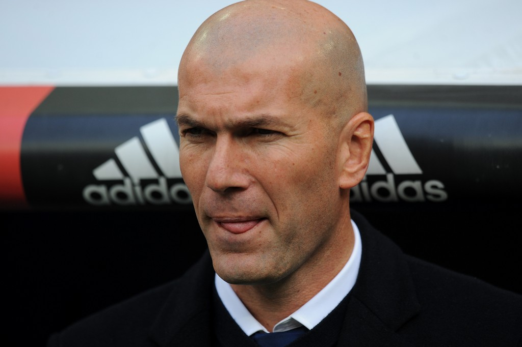 Will Zidane ignore the Madrid pact move for his compatriot? (Picture Courtesy - AFP/Getty Images)