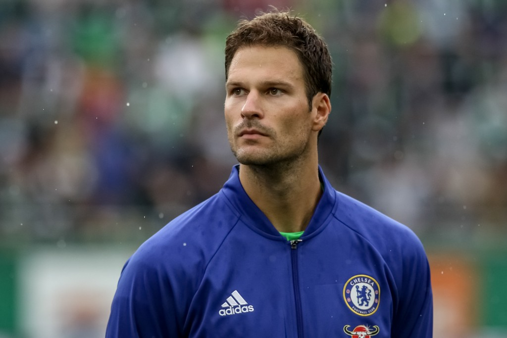 VIENNA, AUSTRIA - JULY 16: Asmir Begovic of Chelsea is seen before an friendly match between SK Rapid Vienna and Chelsea F.C. at Allianz Stadion on July 16, 2016 in Vienna, Austria. (Photo by Matej Divizna/Getty Images)
