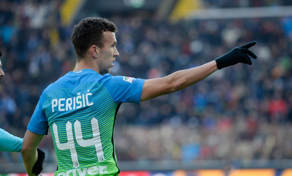 That way to England - Ivan Perisic has sparked interest from Manchester United, Chelsea and Liverpool. (Photo courtesy - Dino Panato/Getty Images)