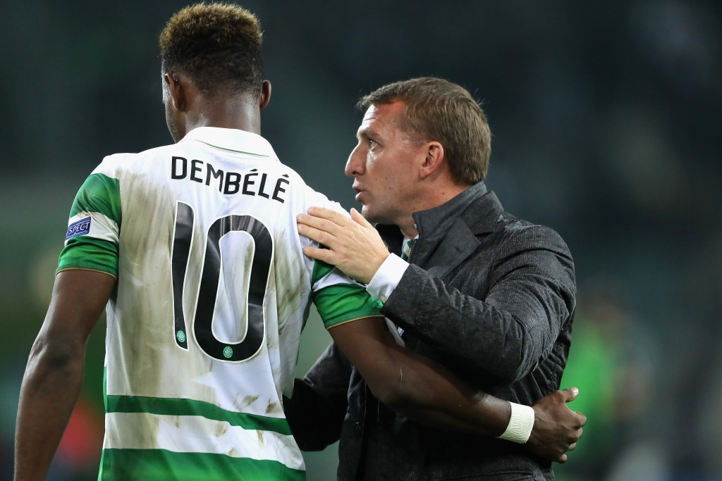 Rodgers set to have Dembele, for now atleast. (Picture Courtesy - AFP/Getty Images)