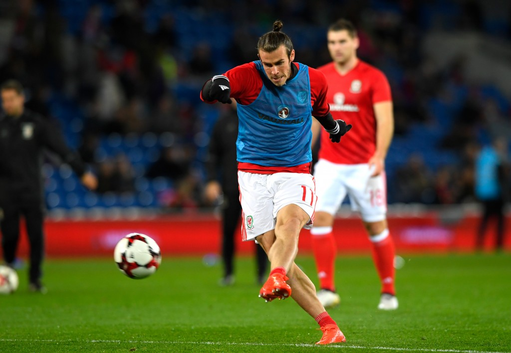 Will it be the red or blue or will the Welsh speedster continue to don the white jersey? (Picture Courtesy - AFP/Getty Images)
