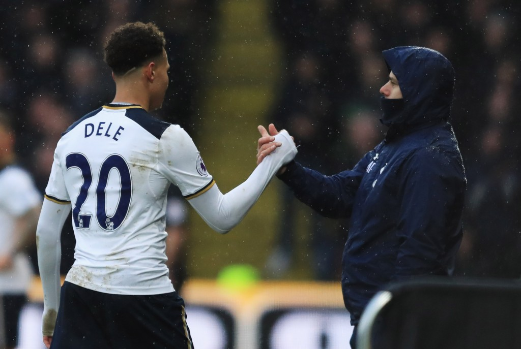 Dele a crucial part of the budding dynasty at Tottenham. (Picture Courtesy - AFP/Getty Images)
