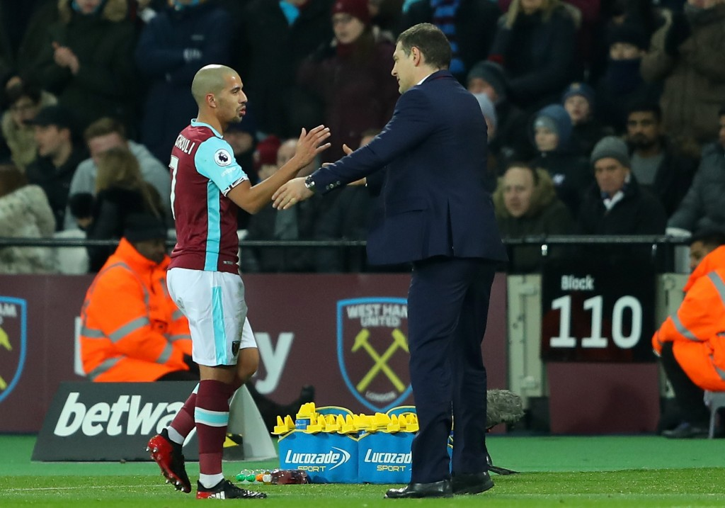 Slaven Bilic and West Ham United were hard done by by controversial decisions, but they managed to hold their own on the night. (Photo by Warren Little/Getty Images)