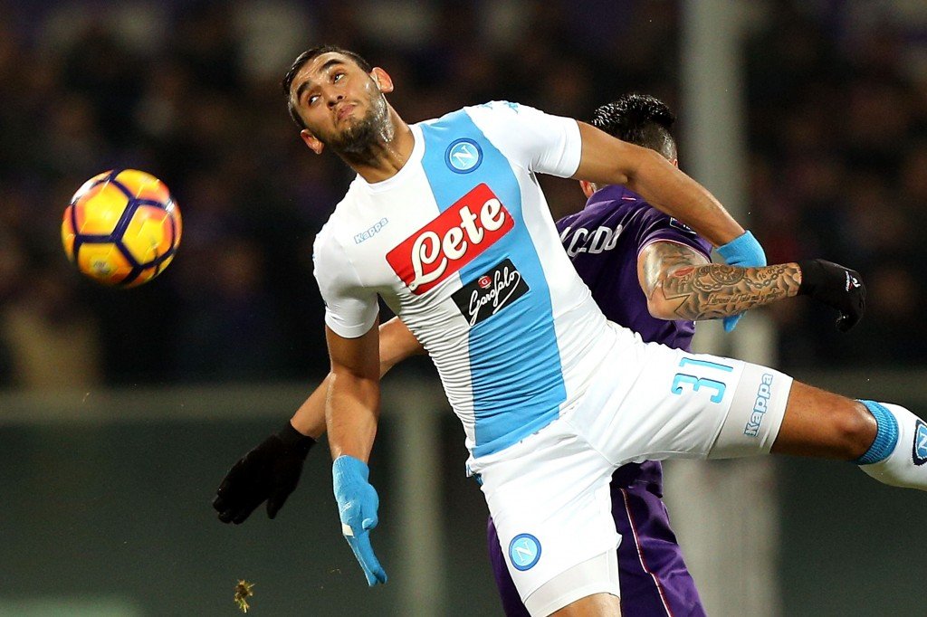 Faouzi Ghoulam has impressed at Napoli and now Chelsea are ready to land him. (Photo courtesy - Gabriele Maltinti/Getty Images)