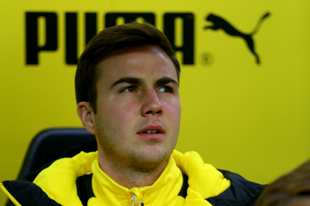 Gotze has struggled to match the heights of his first Dortmund spell under Thomas Tuchel (Photo courtesy - Christof Koepsel/Bongarts/Getty Images)