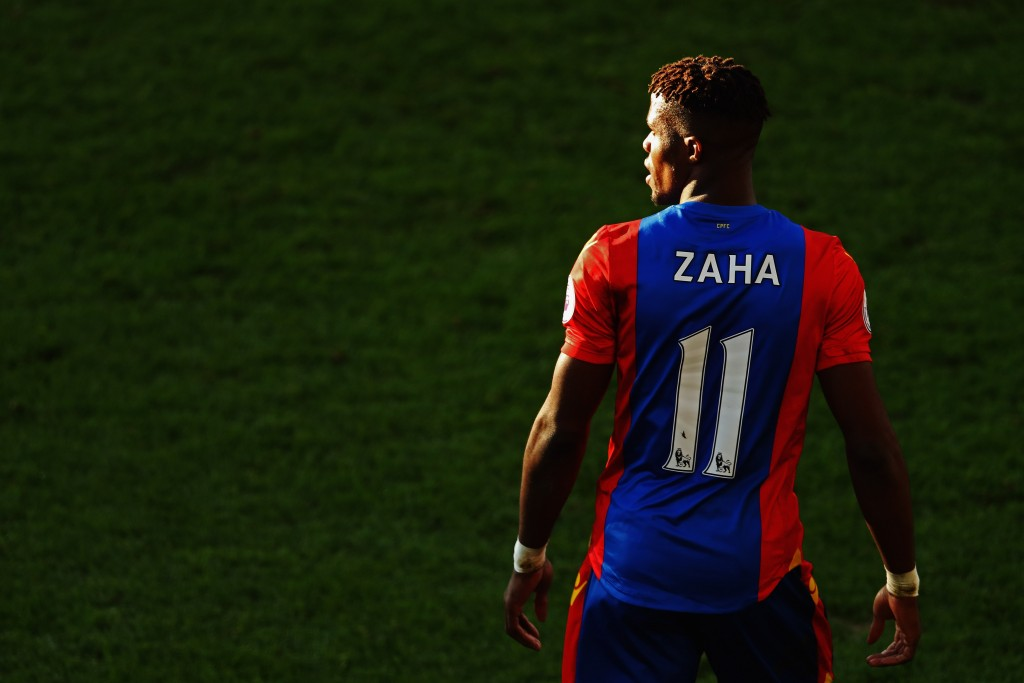 One-man army Wilfred Zaha (Photo by Dean Mouhtaropoulos/Getty Images)