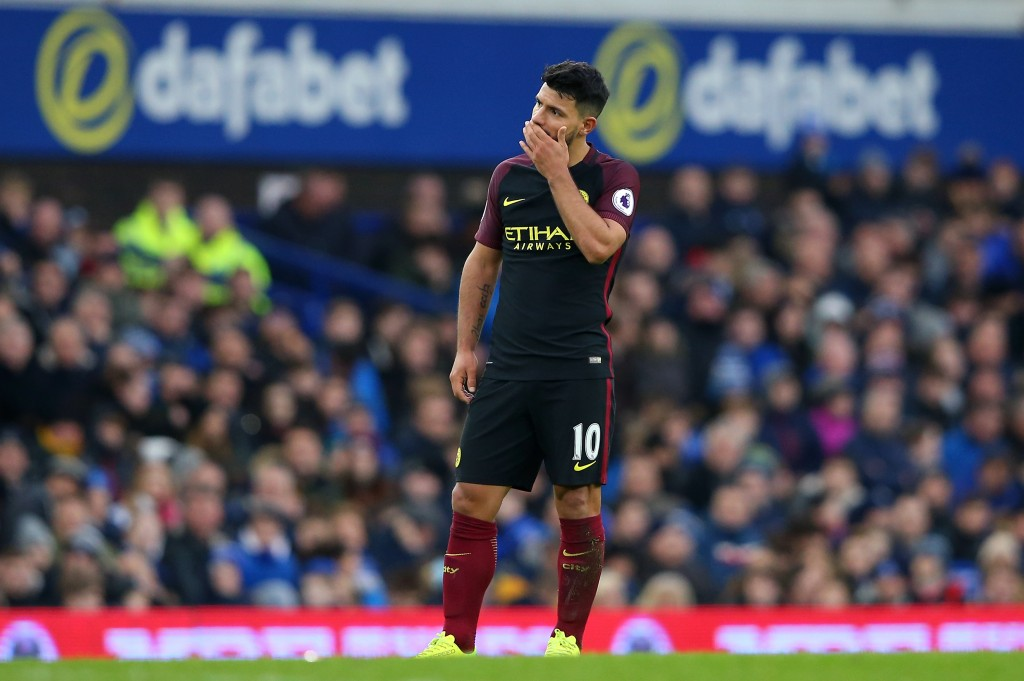 Aguero has looked uncharacteristically different this season for Manchester City. (Photo courtesy - Alex Livesey/Getty Images)