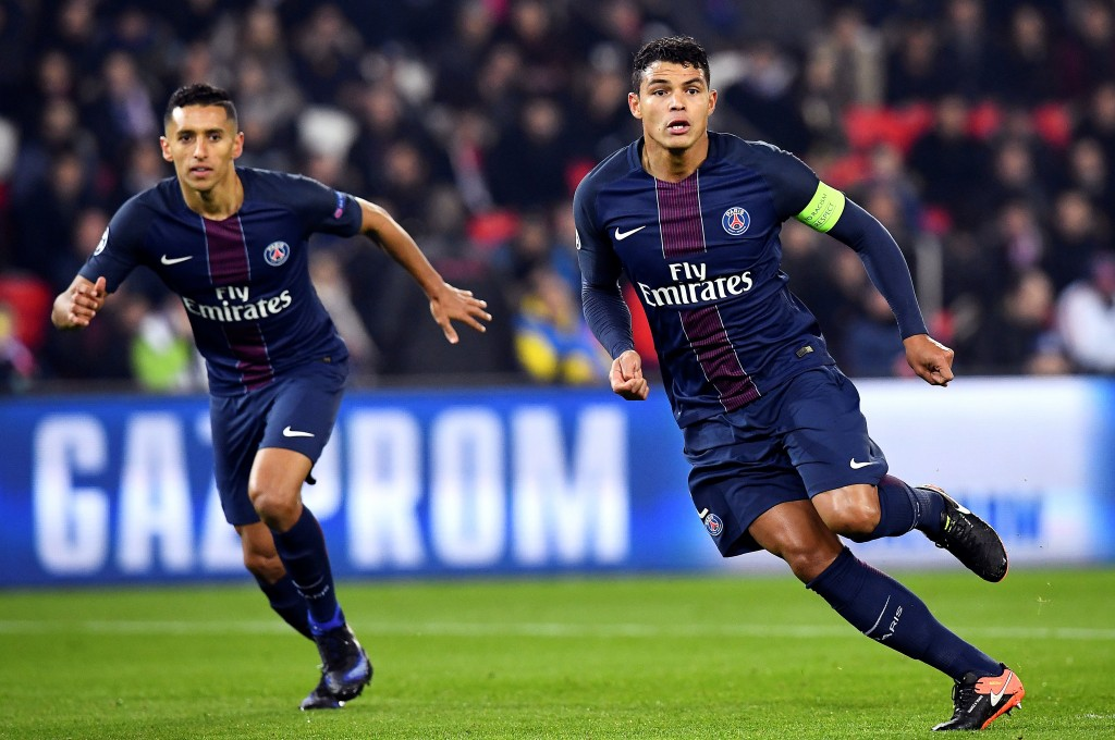 Marquinhos has forged a solid partnership with Thiago Silva this season. (Photo courtesy - Franck Fife/AFP/Getty Images)