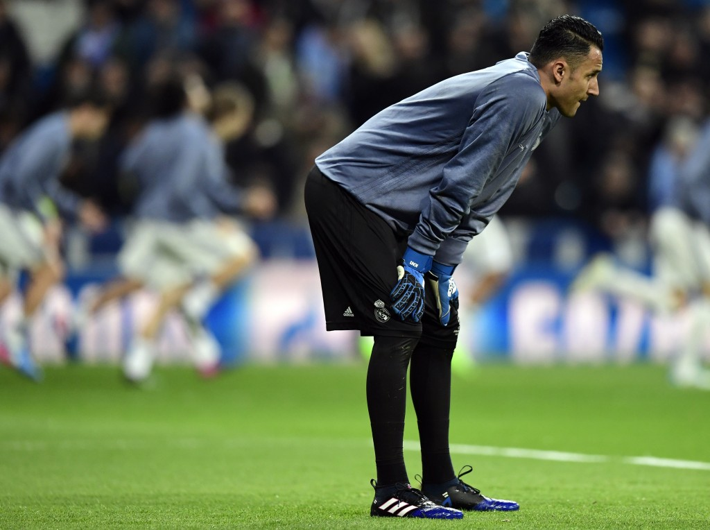Keylor Navas could soon be heading out of Real Madrid. (Photo courtesy - Javier Soriano/AFP/Getty Images)