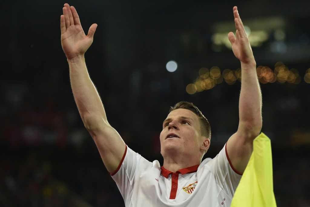 Gameiro was a revelation for Sevilla. (Photo courtesy - Michael Buholzer/AFP/Getty Images)