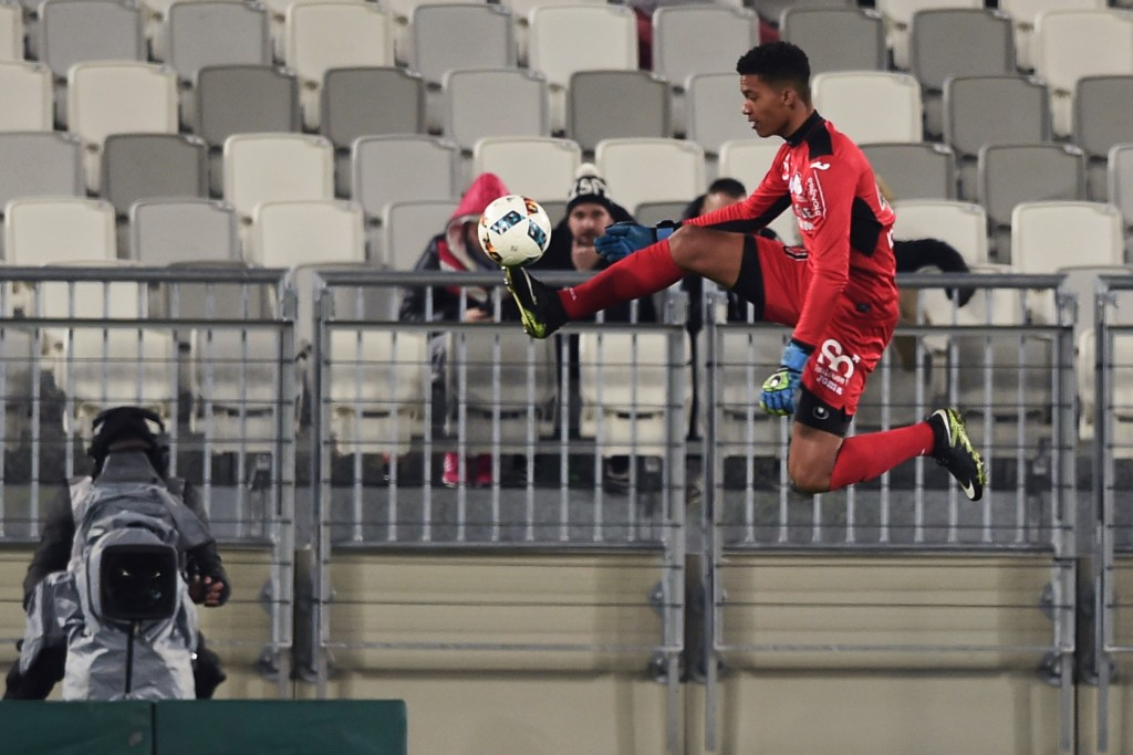 Tipped for the clouds, Lafont is flying high. (Picture Courtesy - AFP/Getty Images)