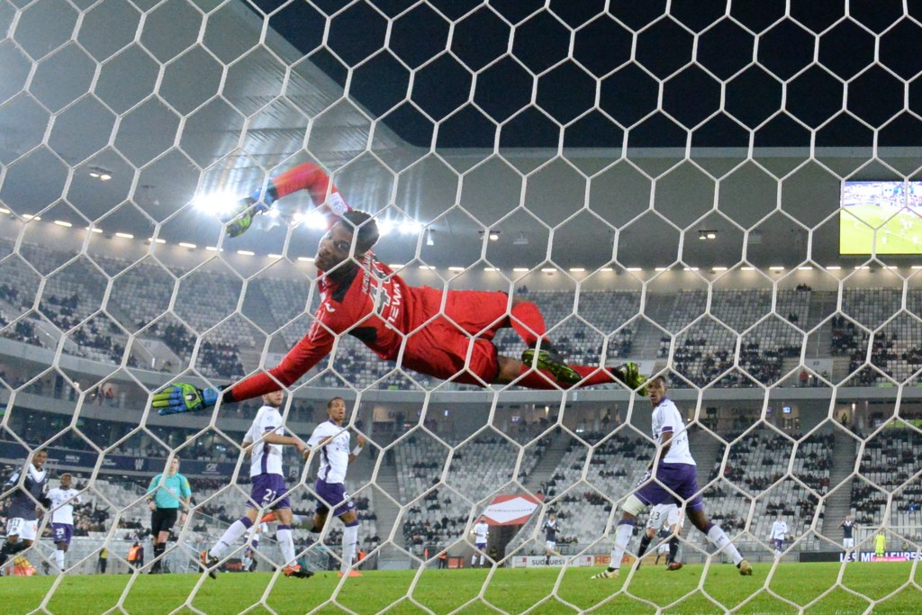 Alban Lafont is flying for Toulouse and has earned many admirers. (Photo courtesy - Nicolas Tucat/AFP/Getty Images)