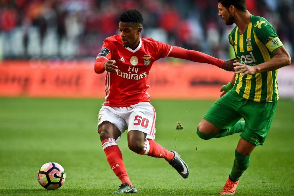 Nelson Semedo's impressive performances for Benfica have earned him four heavyweight suitors. (Photo courtesy - Patricia De Melo Moreira/AFP/Getty Images)
