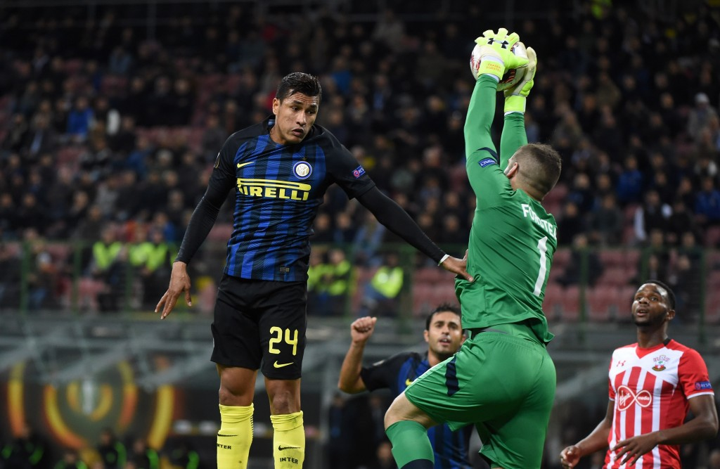 Jeison Murillo continues to rise in stature at Inter Milan. (Photo courtesy - Pier Marco Tacca/Getty Images)