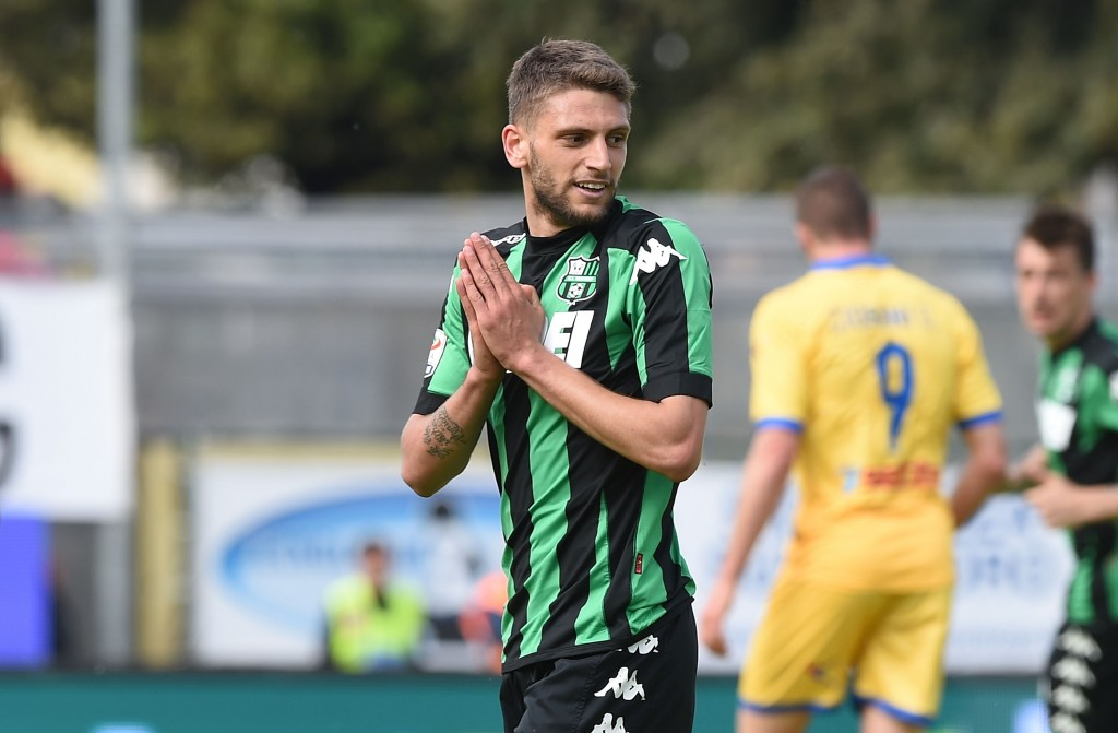 Clubs are lining up to sign Domenico Berardi. (Photo courtesy - Francesco Pecoraro/Getty Images)