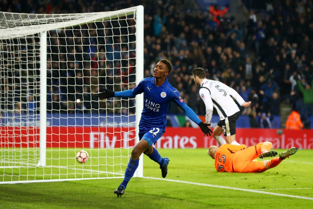 Demarai's future at Leicester starting to look Gray. (Picture Courtesy - AFP/Getty Images)