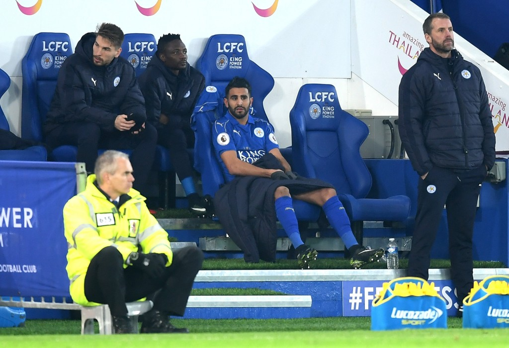 Riyad Mahrez has been disappointing for Leicester City this season. (Photo courtesy - Michael Regan/Getty Images)