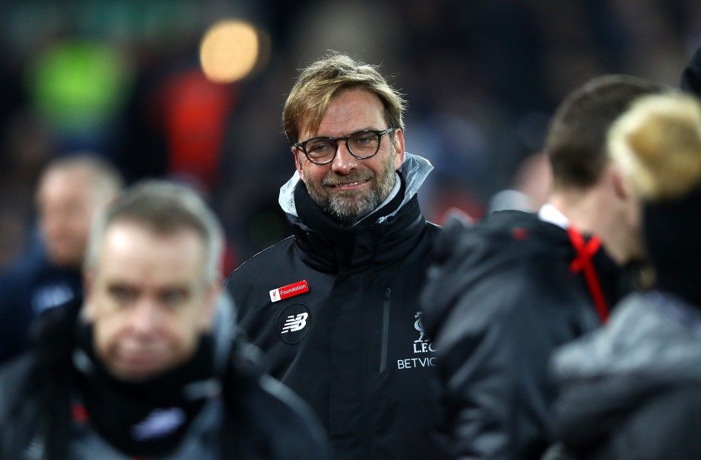 The smile is back on Jurgen Klopp's face. (Photo courtesy - Clive Brunskill/Getty Images)