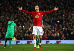 Zlatan Ibrahimovic hat-trick gives Manchester United commanding lead over Saint-Etienne [Video]