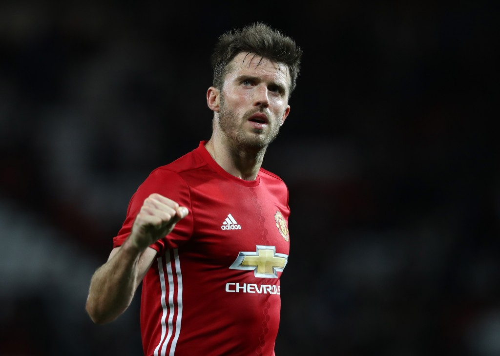 Is Michael Carrick struggling to cope with playing at central defence? (Photo courtesy - David Rogers/Getty Images)