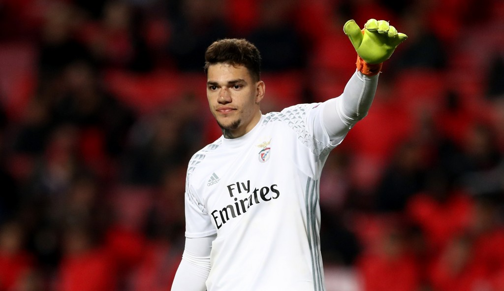 Ederson continues to earn admirers for his talents. (Photo courtesy - Lars Baron/Bongarts/Getty Images)