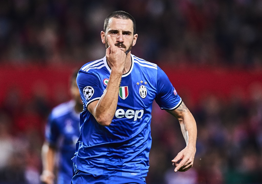 Leonardo Bonucci is a highly sought after defender right now. (Photo courtesy - Aitor Alcalde/Getty Images)