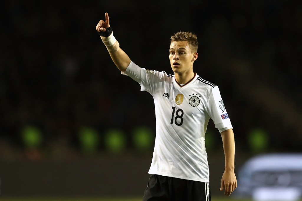 Joshua Kimmich is a major absentee for Germany in the latest international break. (Photo by Alexander Hassenstein/Bongarts/Getty Images)