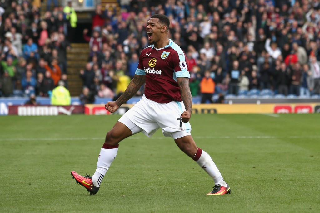 Andre Gray led Burnley to a shock 2-0 win over Liverpool in August. (Photo courtesy - Jan Kruger/Getty Images)