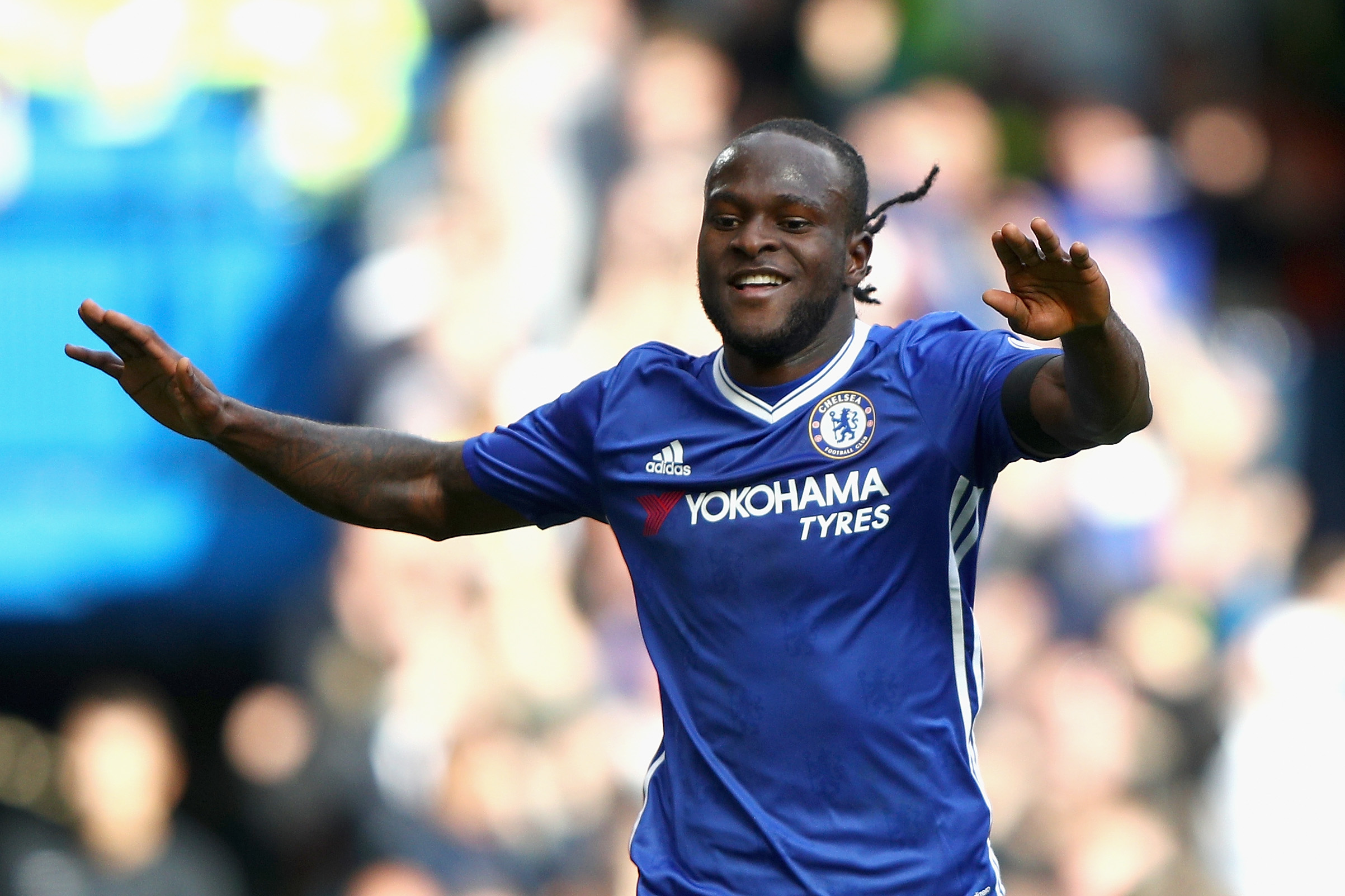 Antonio Conte knows how to bring the best out of Victor Moses. (Photo by Ian Walton/Getty Images)