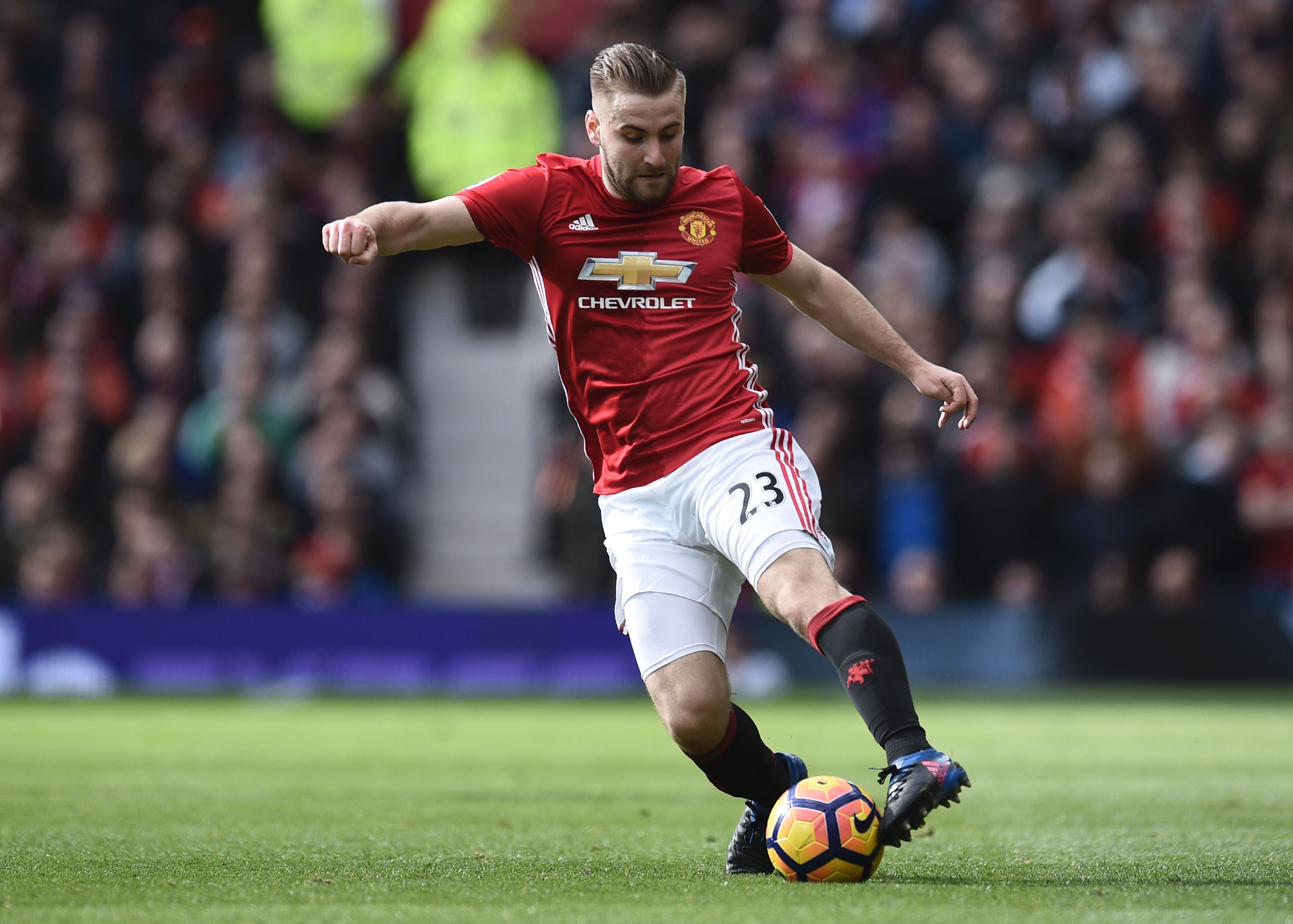 Luke Shaw's agent plays down talk of Manchester United departure