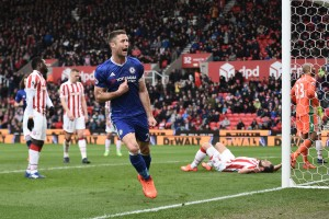 Stoke City 1 Chelsea FC 2: Gary Cahill wins it for Conte & co. [Video]