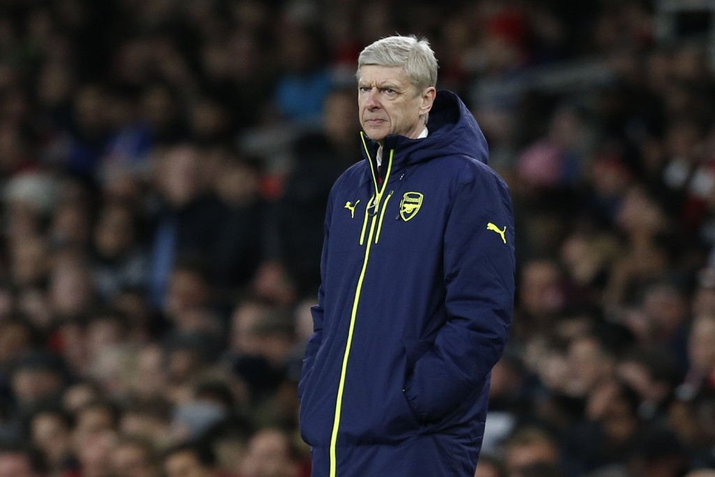 Wenger looked on Arsenal were punished by Watford for being too slow off the gates, with 2 goals shipped in in the first 15 minutes of the game. (Picture Courtesy - AFP/Getty Images)