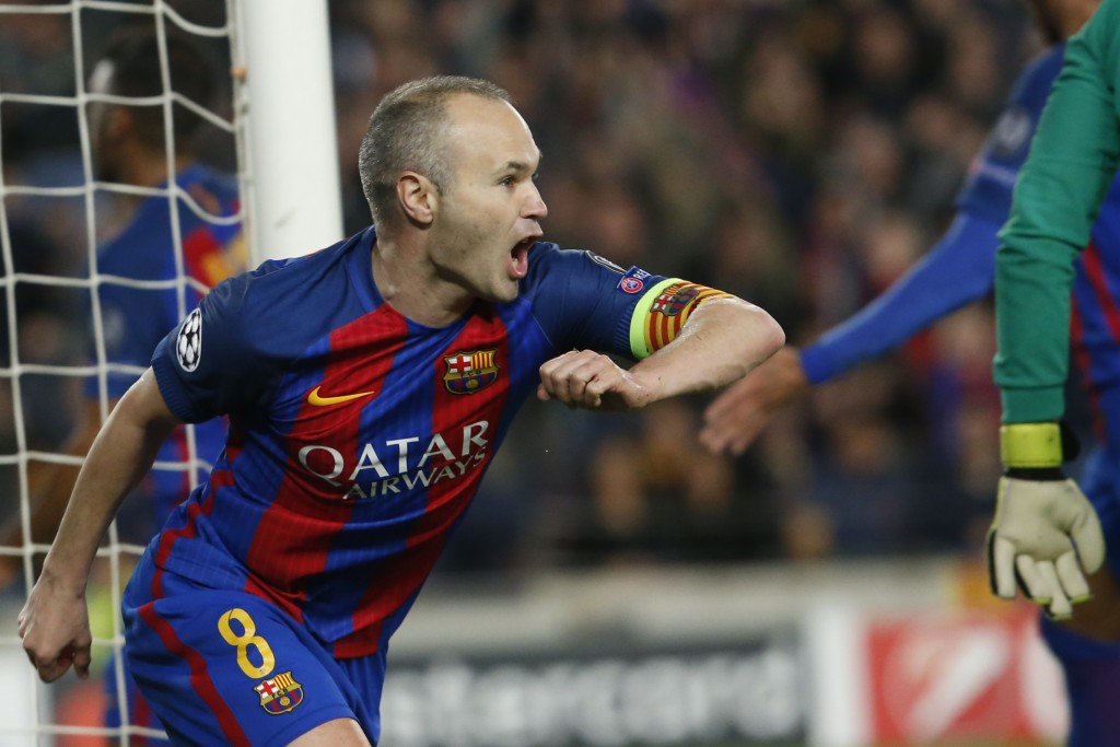 Iniesta is set to renew his deal with Barcelona. (Photo courtesy - Pau Barrena/AFP/Getty Images)