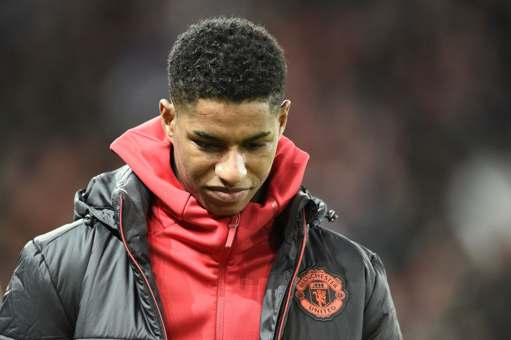 Will Rashford make the difference on Satuday? (Photo courtesy - Oli Scarff/AFP/Getty Images)