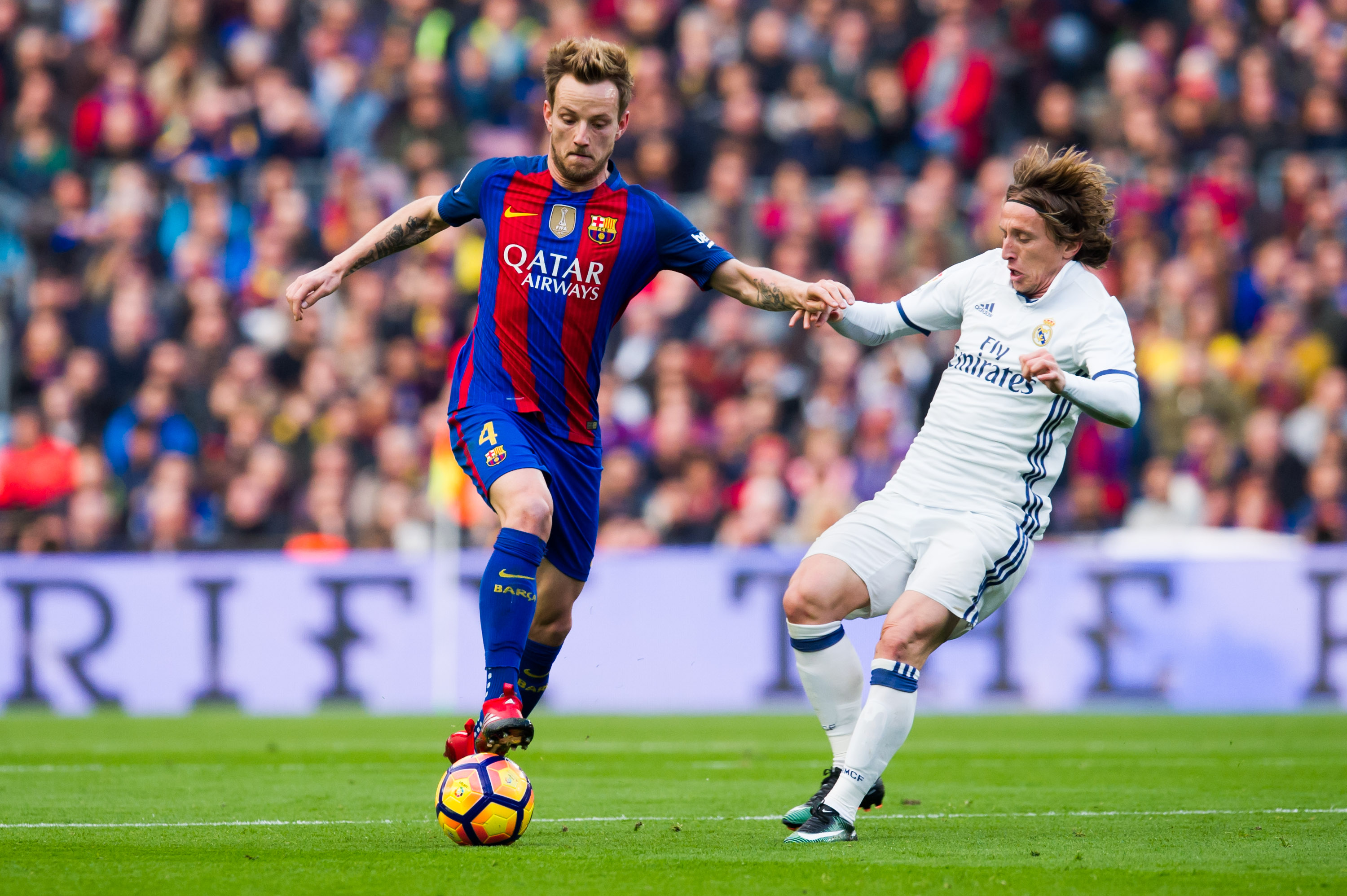 Captain Modric, and Vice-captain Rakitic are both unavailable for this international break. (Photo courtesy - Alex Caparros/Getty Images)