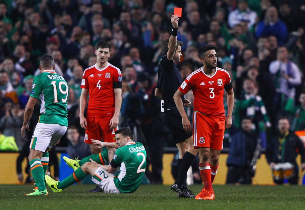 Seamus Coleman misses out for Ireland due to injury. (Photo by Ian Walton/Getty Images)