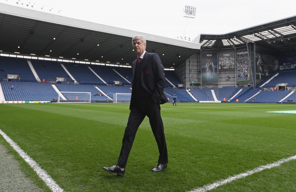 Wenger's future hinges on the fixture. (Picture Courtesy - AFP/Getty Images)
