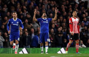 Eden Hazard and Diego Costa on the mark as Chelsea comfortably beat Southampton [Best Tweets]