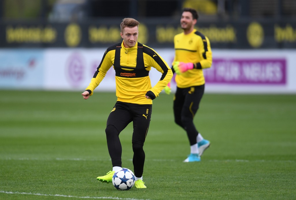 Can Marco Reus guide his team to a victory against Monaco? (Photo by Patrik Stollarz/AFP/Getty Images)