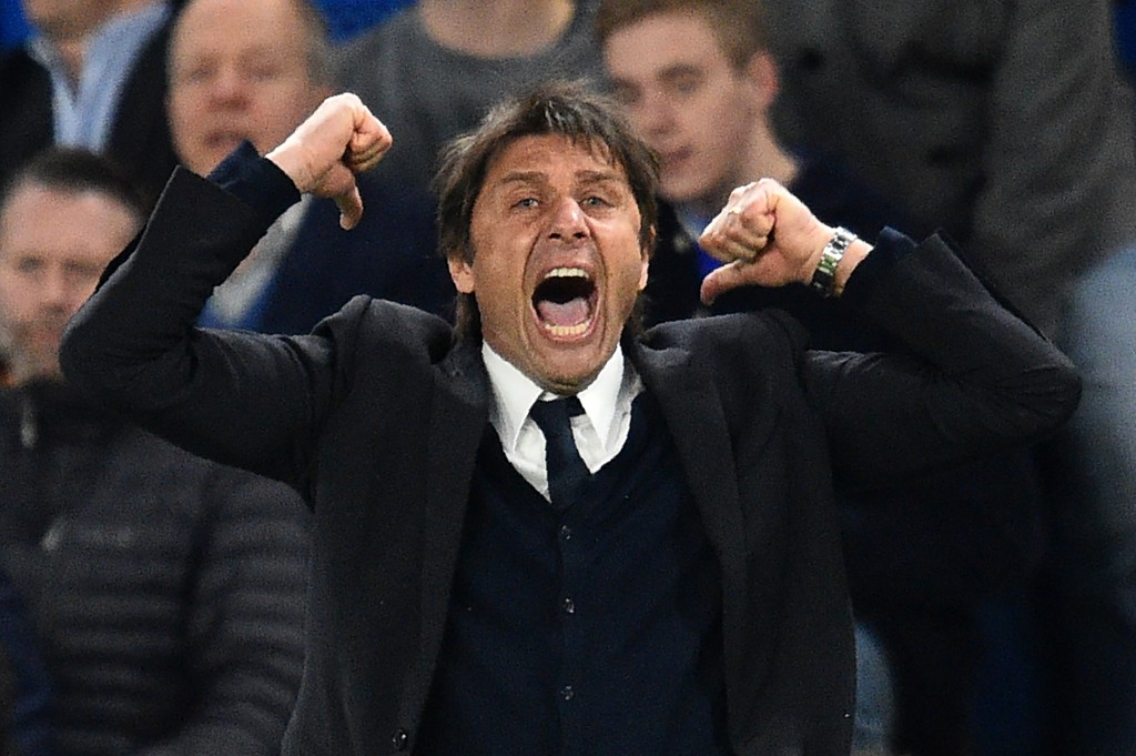 Will Antonio Conte have more cause for celebration on Saturday? (Photo courtesy - Glyn Kirk/AFP/Getty Images)