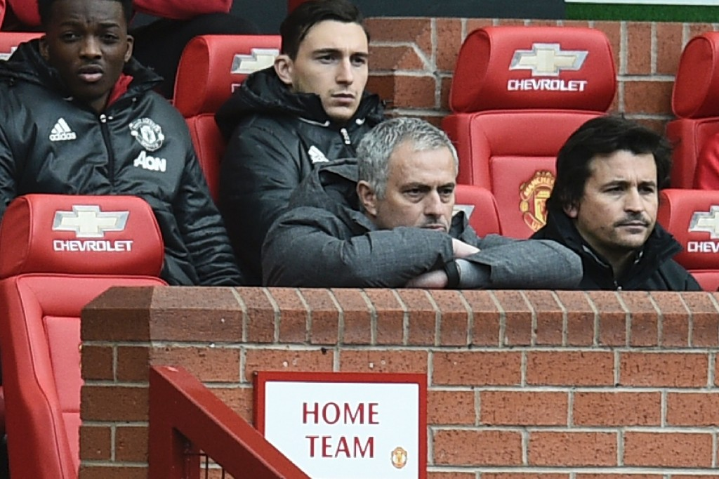 There was always a hint of scepticisim surrounding Jose's appointment (Photo: OLI SCARFF/AFP/Getty Images)