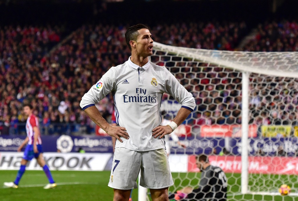 Cristiano Ronaldo scored an emphatic hat-trick in the reverse fixture. (Photo courtesy - Gerard Julen/AFP/Getty Images)