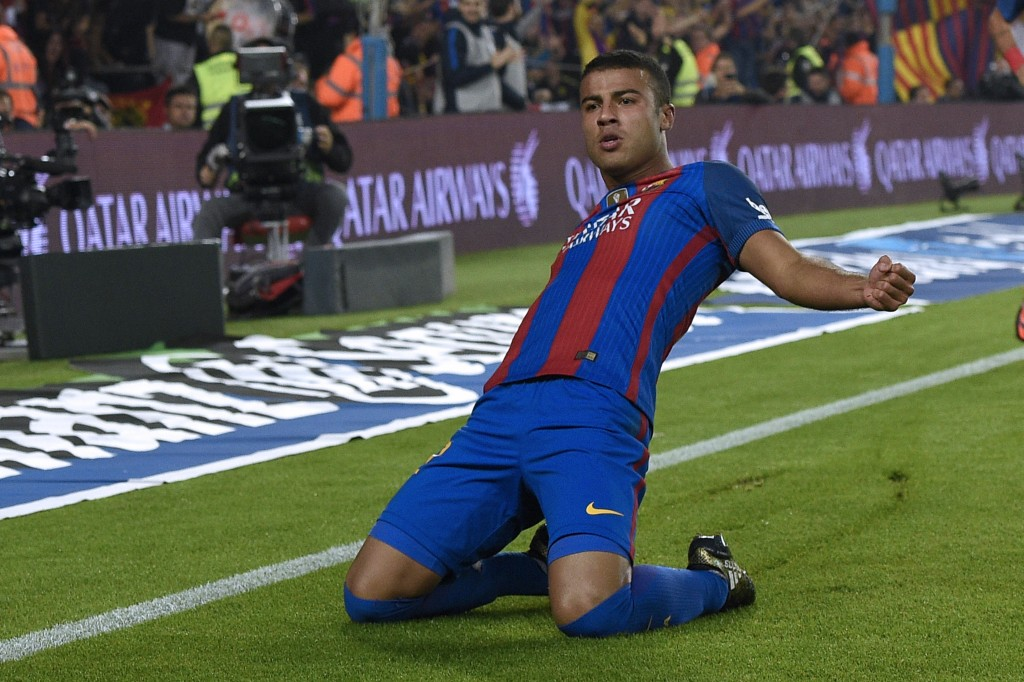 Rafinha made the difference for Barcelona in the reverse fixture. (Photo courtesy - Lluis Gene/AFP/Getty Images)