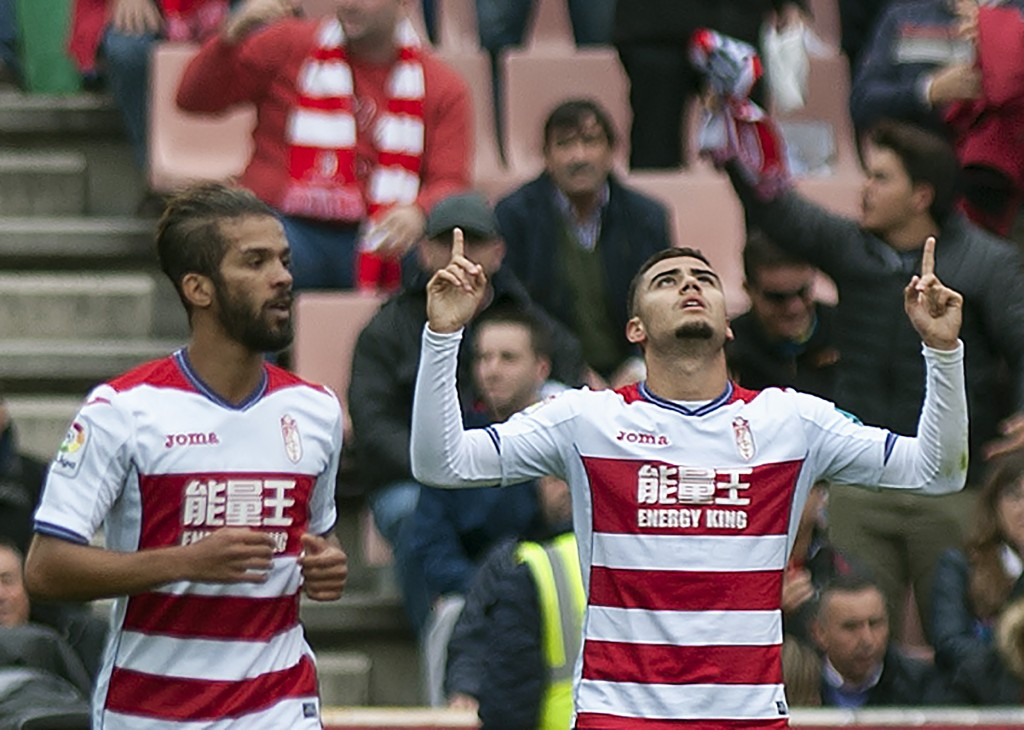Can Andreas Pereira lead Granada to an unlikely win on Sunday? (Photo courtesy - Jorge Guerrero/AFP/Getty Images)