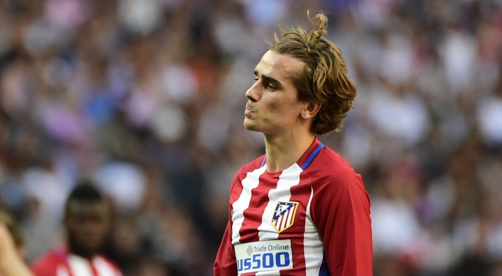 Griezmann has signed a new contract extension with Atletico Madrid. Photo by PIERRE-PHILIPPE MARCOU/AFP/Getty Images)
